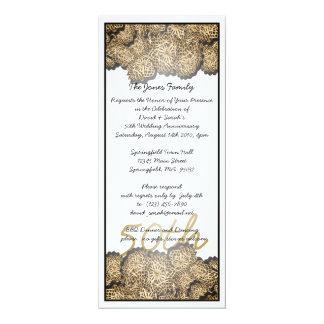 50th Anniversary Personalized Invites