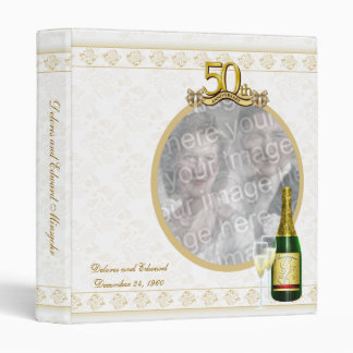 50th Anniversary Photo Keepsake Binder
