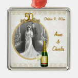 50th Anniversary Photo Keepsake Ornament