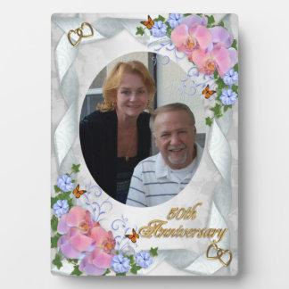 50th Anniversary photo plaque