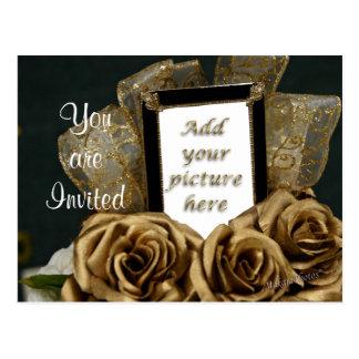 50th Anniversary Postcard Invitation- customize