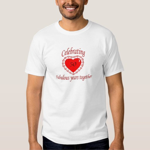 50th. Anniversary T-Shirt
