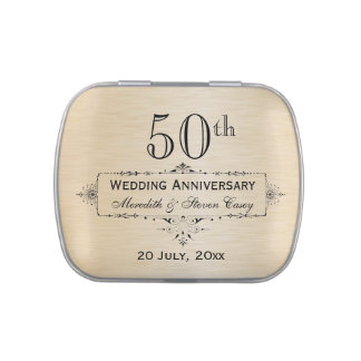 50th Anniversary Trees Jelly Belly™ Candy Tin