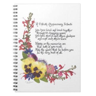 50th Anniversary Tribute Notebook