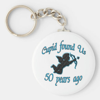 50th. Anniversay Keychain