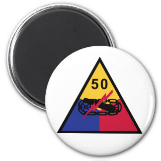 50th Armored Division Magnet