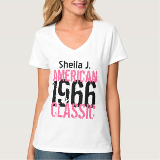 50th Birthday 1966 or ANY YEAR American Classic T-Shirt