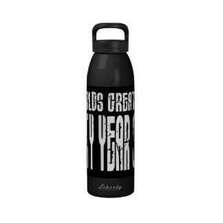 50th Birthday 50 World's Greatest Fifty Year Old Water Bottle