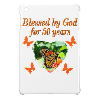 50TH BIRTHDAY BUTTERFLY iPad MINI COVERS