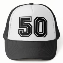 50th Birthday Classic Trucker Hat