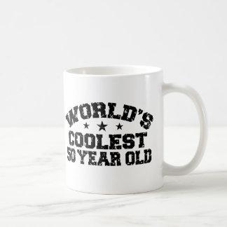 50th Birthday Classic White Coffee Mug