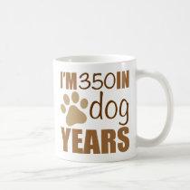 50th Birthday Dog Years Coffee Mug