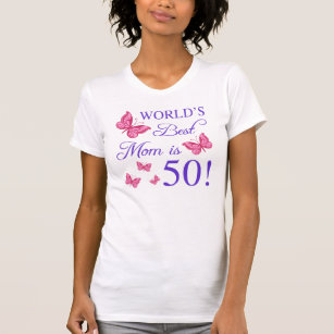 50th Birthday For Mom T Shirt