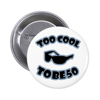 50th Birthday Gag Gift Buttons