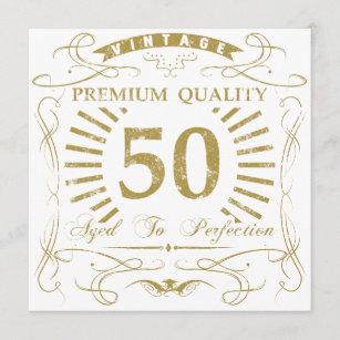 50th Birthday Gag Gift Card