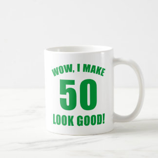 50th Birthday Gag Gift (g) Coffee Mug