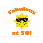 50th Birthday Gag Gift Post Cards