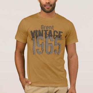50th Birthday Gift 1965 Vintage Grunge V42F T-Shirt