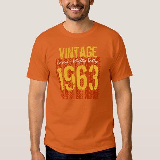 50th Birthday Gift Best 1963 Vintage V011 T-Shirt