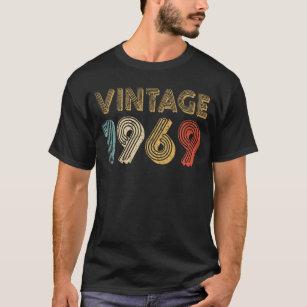 50th Birthday Gift Vintage 1969 T Shirt