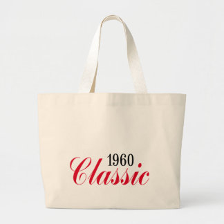 50th birthday gifts, 1960 Classic! Large Tote Bag