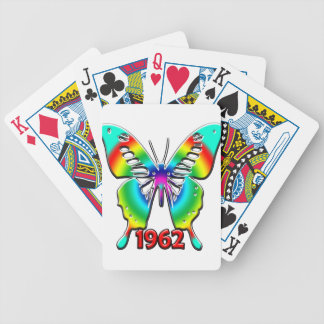 50th Birthday Gifts, 1962 Bicycle Playing Cards