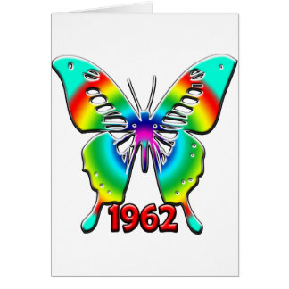 50th Birthday Gifts, 1962 Greeting Cards