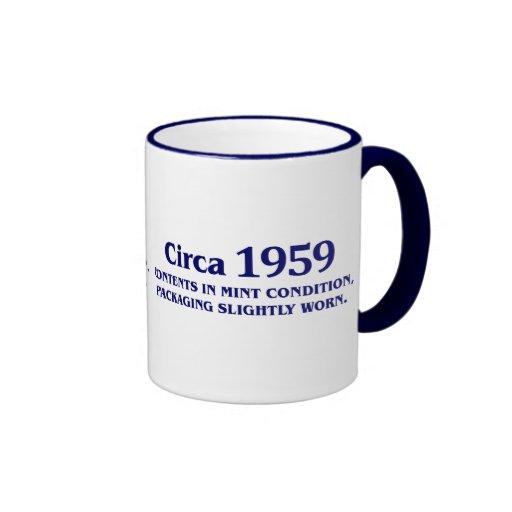 50th birthday gifts for sale! ringer mug