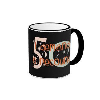 50th birthday gifts, I demand a recount! Ringer Coffee Mug