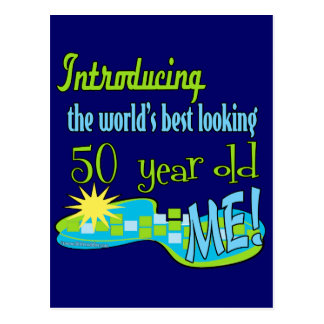 50th Birthday Gifts Postcard