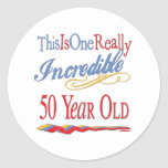 50th Birthday Gifts Stickers