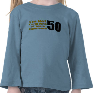 50th Birthday Gifts T Shirt