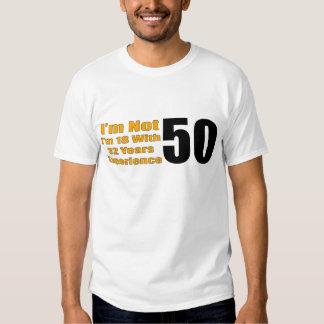 50th Birthday Gifts Tee Shirt