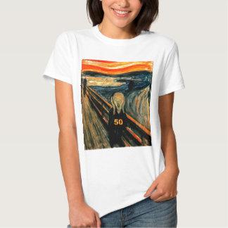 50th Birthday Gifts, The Scream 50! T Shirt