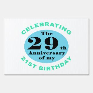 50th Birthday Humor Sign