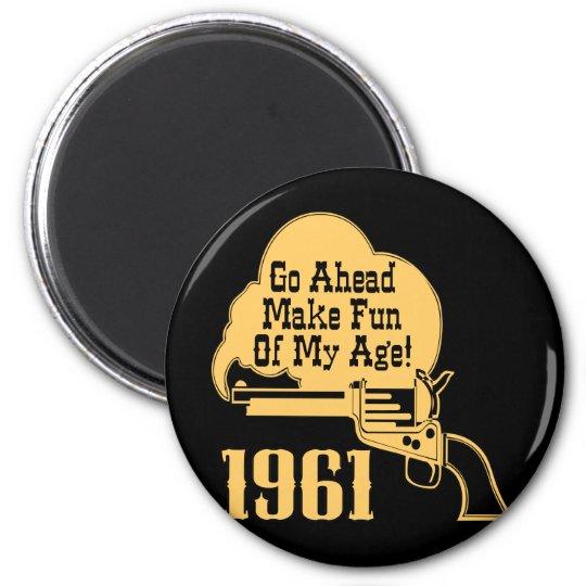 50th Birthday Magnet