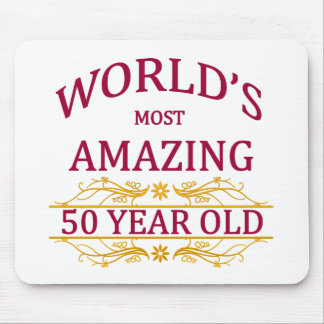 50th. Birthday Mouse Pad