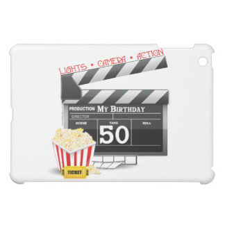 50th Birthday Movie Theme iPad Mini Covers