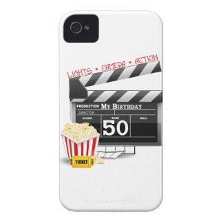 50th Birthday Movie Theme iPhone 4 Case-Mate Case