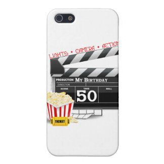 50th Birthday Movie Theme iPhone SE/5/5s Cover