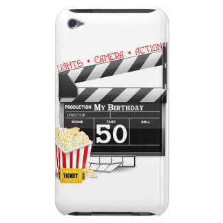 50th Birthday Movie Theme iPod Touch Case