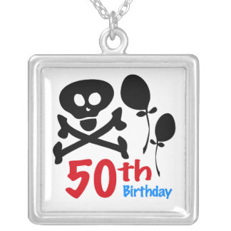 50th Birthday Necklace