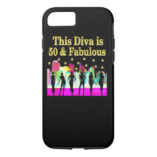 50TH BIRTHDAY NEW YORK CITY DESIGN iPhone 7 CASE