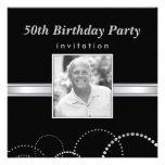 50th Birthday Party - Custom Photo Invitations