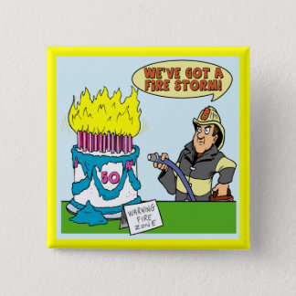 50th Birthday Party Favor Button