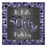 50th Birthday Party InvitationPERSONALIZED Custom Invitation