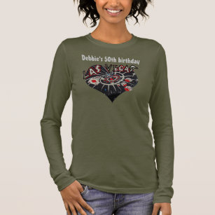 50th Birthday Party Las Vegas Long Sleeve T Shirt