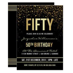 Formal Birthday Invitations Stationery Zazzle
