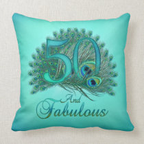 50th Birthday Pillows