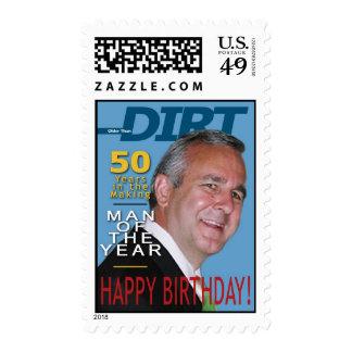 50th Birthday Stamp